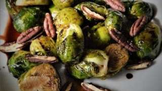 Honey Balsamic Brussel Sprouts