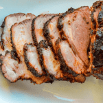 Peach Mango Smoked Pork Loin Feature