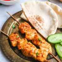 Tandoori Salmon Kebabs