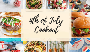 Feature Image for 4th of July Cookout Favorites