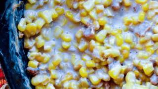 Chili Bacon Creamed Corn
