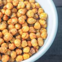 Simply Seasoned Air Fryer Chickpeas