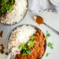Instant Pot Paleo Chicken Tikka Masala (Low Carb, Whole30)