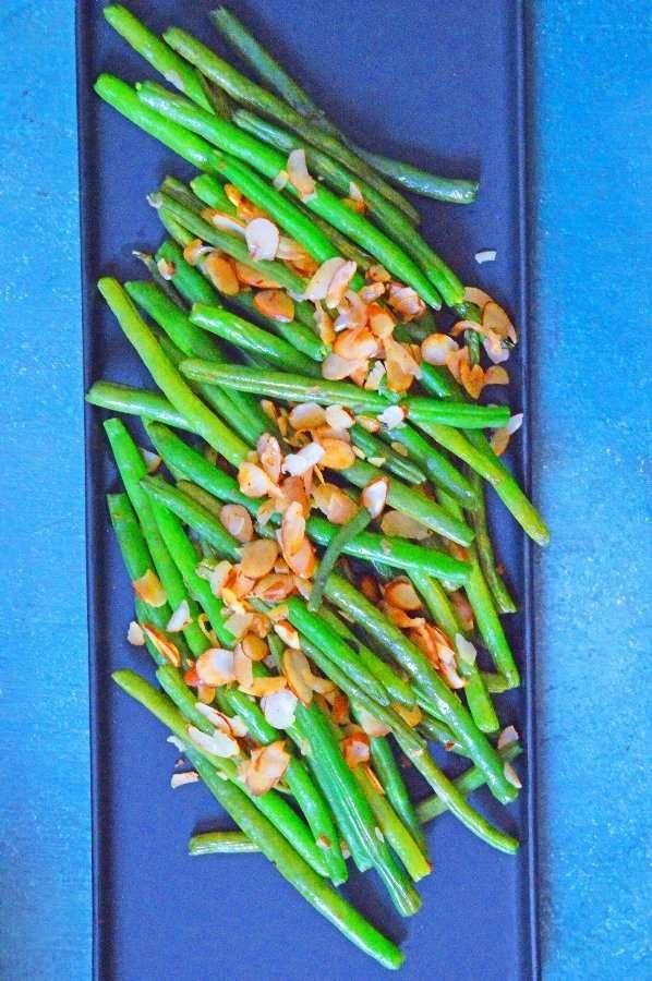 Full Plate Almond Green Beans