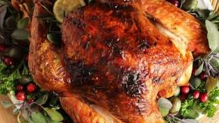 Citrus and Herb Butter Roast Turkey Recipe