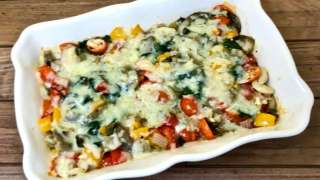 Spinach and Sautéed Veggie Casserole