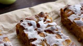 Sharlotka: Russian Apple Pie • Happy Kitchen