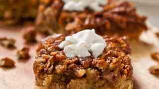 Pecan Pie Bars (with gluten free option)