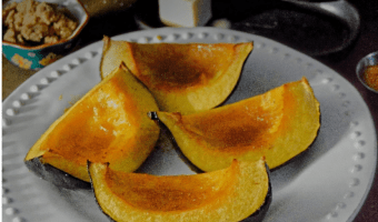 Feature Image Acorn Squash Wedges with Brown Sugar Butter