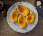 Recipe image Acorn Squash Wedges with Brown Sugar Butter