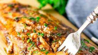 Maple-Chipotle Grilled Salmon