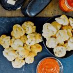 Serving up a batch of garlic knots