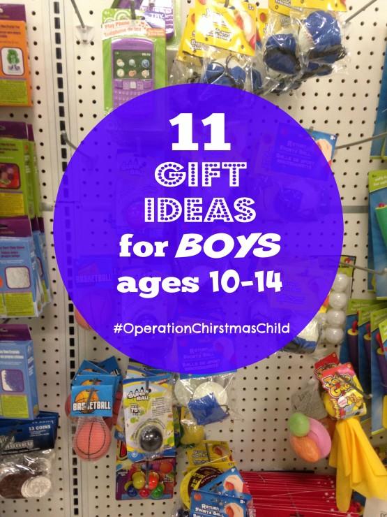 Operation christmas child gift ideas 10-14 boyfriend