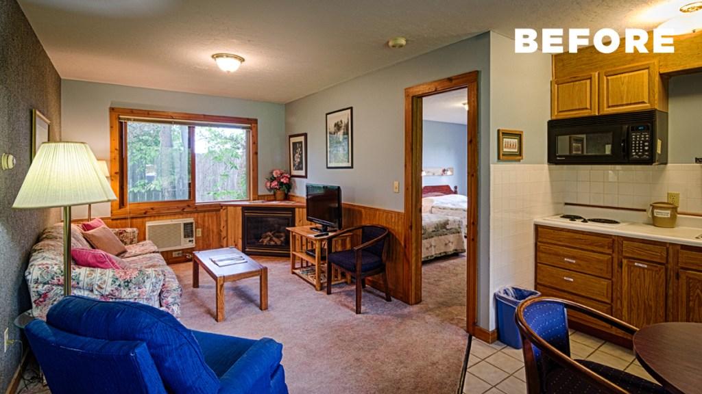 motel renovation BEFORE