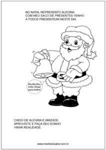 16 Desenhos De Natal Para Colorir Mestre Do Saber