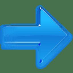 flecha azul 1