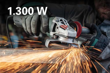 METABO Angle Grinder: More Power. In All Classes. 5