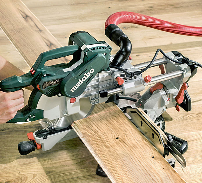 KGSV 72 XACT SYM: Combination of Compact Panel Saw & Precision Skirting Saw 11