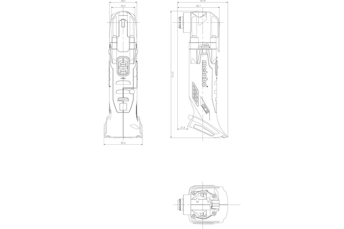 Mt 18 Ltx Cordless Multi Tool