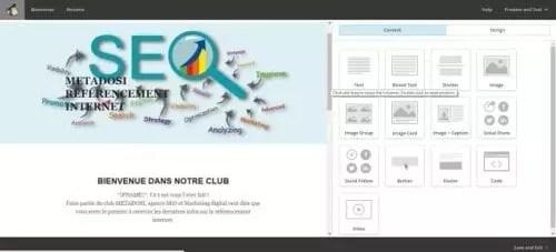 Modèle de template responsive pour les campagnes d'emailing