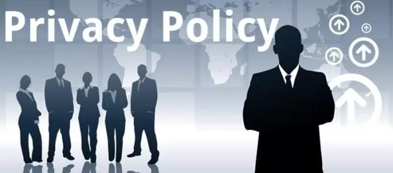 Notre politique de confidentialité