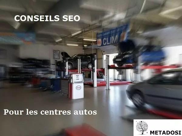 Conseils SEO pour les garages automobiles