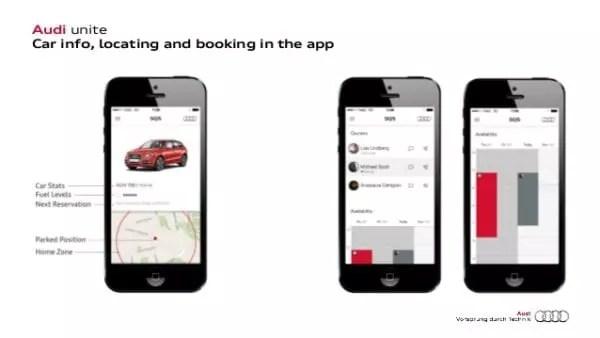 Les applications mobiles des marques de voitures de luxe, telle celle d'Audi fidélisent les clients