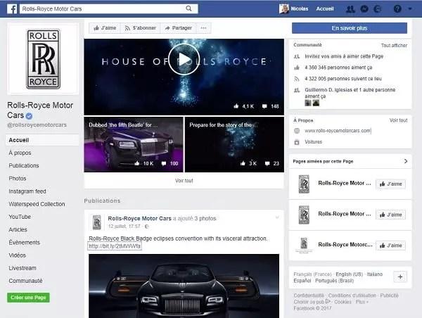 Les marques de luxe, comme Rolls Royce investissent le digital, en offrant des expériences clients uniques grâce à de nouvelles stratégies de marketing