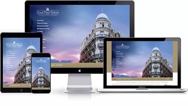 Création de site internet personnalisé