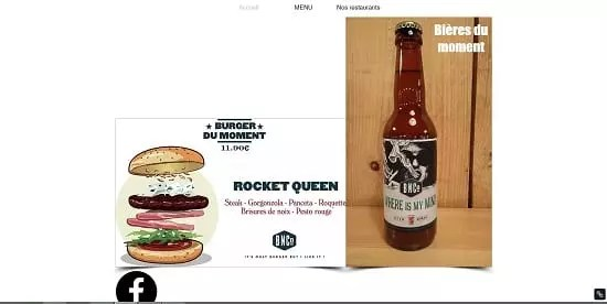 Image d'un site de restaurant: Burger and Co Montpellier