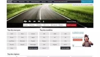 Les sites d'annonces automobiles ( infomédiaires ) se battent pour le leadership de la présence en ligne au détriment des concessionnaires