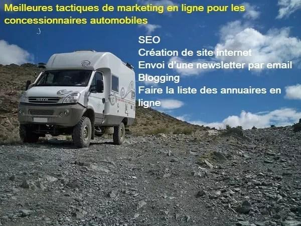 Marketing digital pour les concessionnaires automobiles
