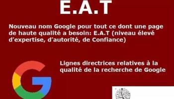 E-A-T est une partie importante des algorithmes Google
