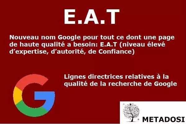 Les critères E-A-T et YMYL sont une partie importante des algorithmes Google