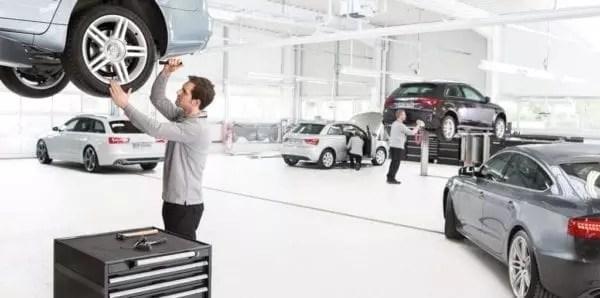 Le service après-vente des concessions automobiles méritent le projecteur digital