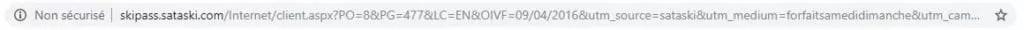 URL UTM complète