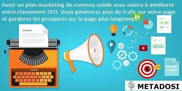 Tutoriel de référencement Google la stratégie de marketing de contenu