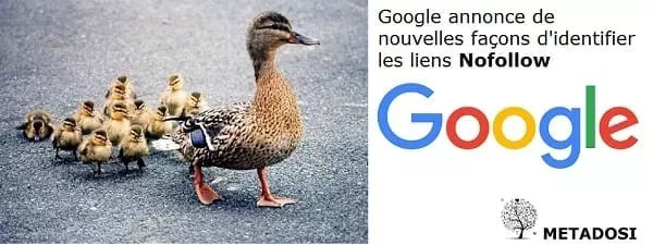 Google annonce de nouvelles façons d'identifier les liens Nofollow