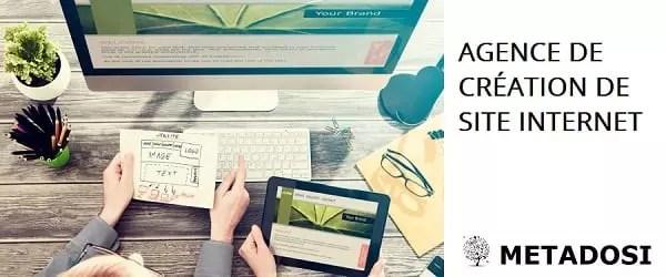 Agence de création de site internet pour un design brillant