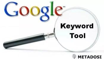 Outils de mots clés Google