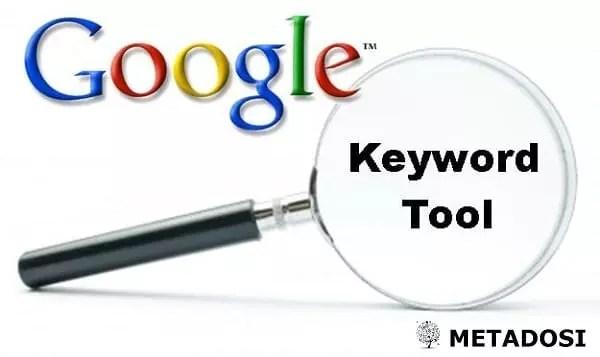 Outil de mot clé Google : Pas le seul de son genre