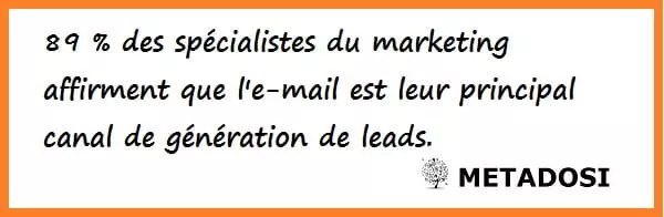 Statistiques email marketing
