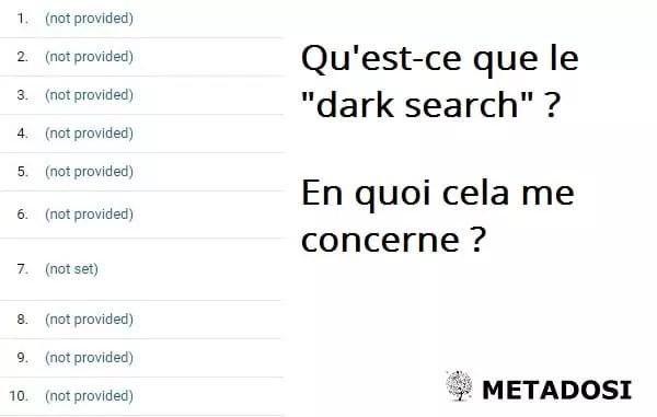 """Qu'est-ce que le """"dark search"""" et en quoi cela vous concerne-t-il ?"""