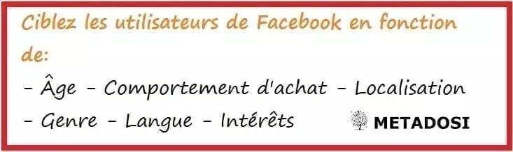 Cibler les utilisateurs Facebook