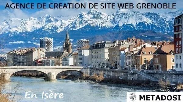 Agence de création de site web à Grenoble
