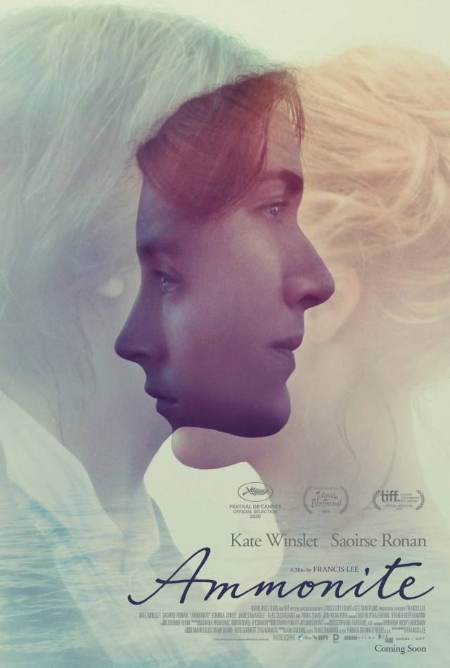 First Poster for 'Ammonite' Starring Kate Winslet and Saoirse Ronan -  Metaflix