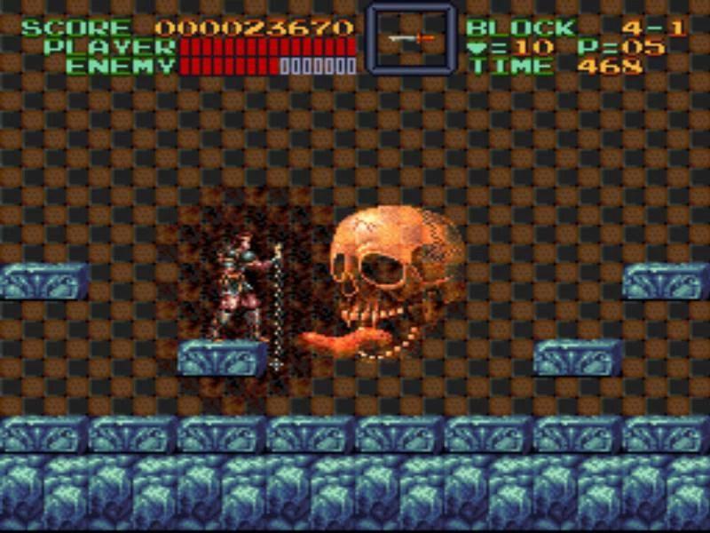 Game Retrô - Super Castlevania IV 4 5