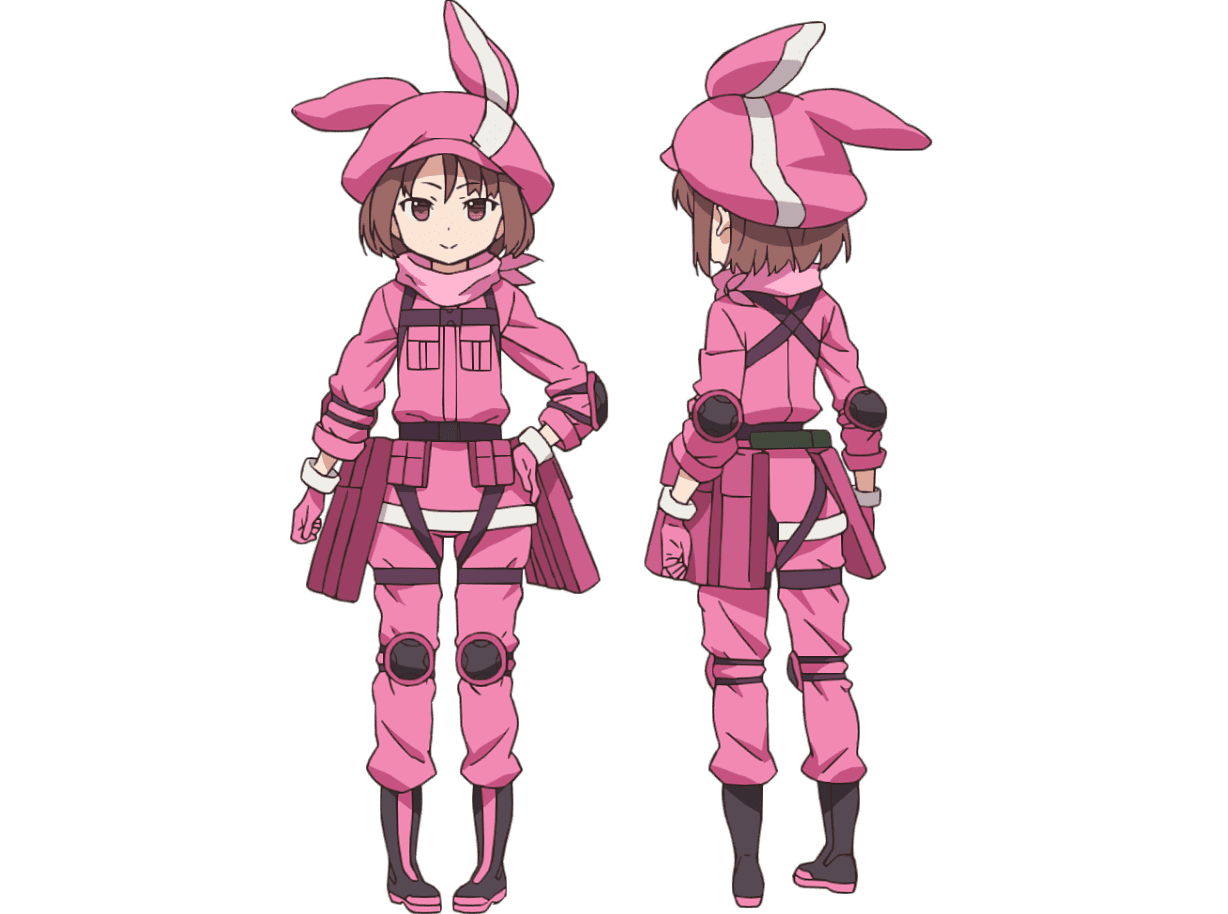 llen-2-Sword Art Online Alternative Gun Gale