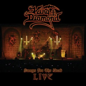 kingdiamondsongsforthedeadlivecover