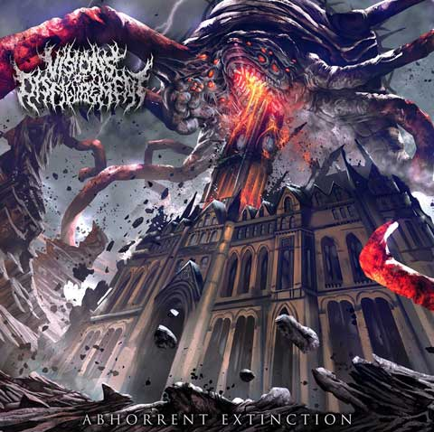 Image result for Visions of Disfigurement - Abhorrent Extinction